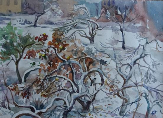 Dina Vladimirovna Bychkova. Winter Garden