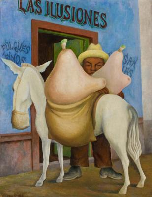 Diego Maria Rivera. Burden