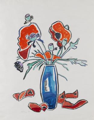 Gabriele Münter. Poppies