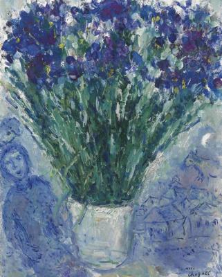Marc Chagall. Irises