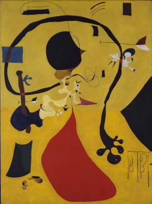 Joan Miro. Dutch interior