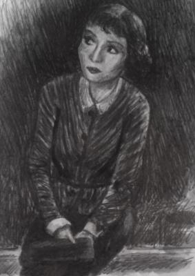 Zina Vladimirovna Parisva. Claudette Colbert