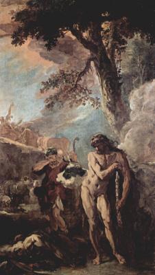 Себастьяно Риччи. Декорации для палаццо Маручелли-Фенци во Флоренции, эскиз для зала Геркулеса. Геркулес и Как