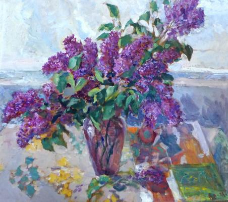 Vasily Fadeevich Demin. Lilac