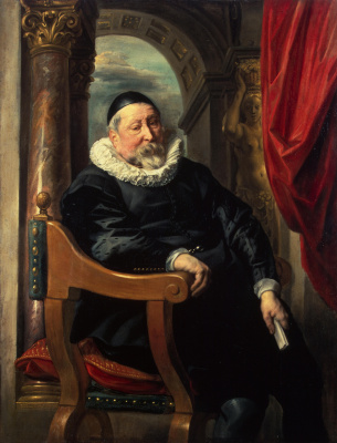 Jacob Jordaens. Portrait of an old man