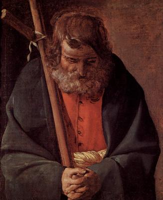 Georges de La Tour. The Apostle Philip