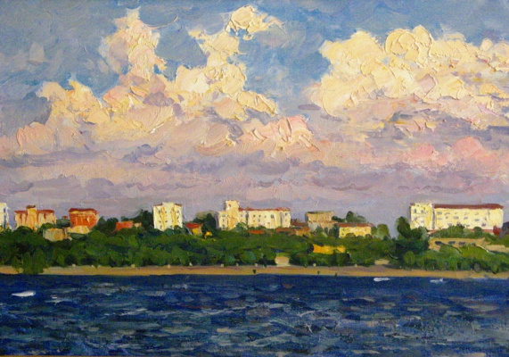 Николай Иванович Хальзев. Самара 60 - х годов