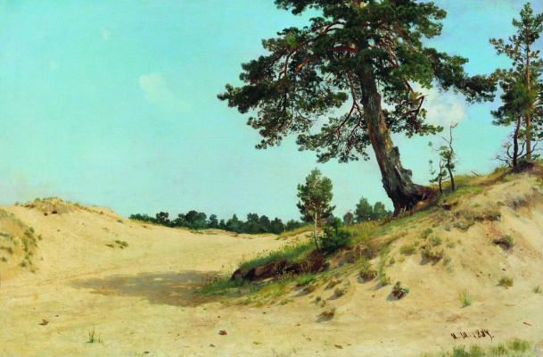 Ivan Ivanovich Shishkin. Pine on the sand