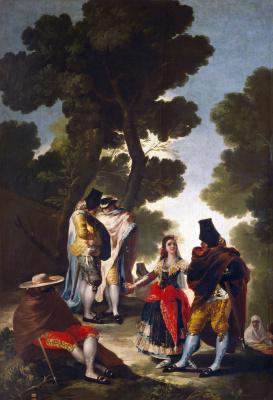 Masquerade in Andalusia
