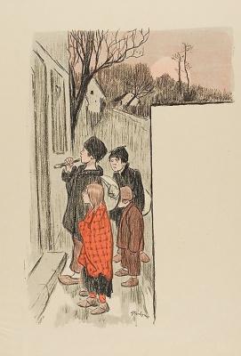 Theophile-Alexander Steinlen. Beggars