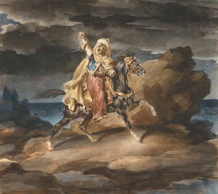 Théodore Géricault. Giaour