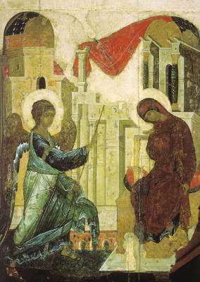 Andrey Rublev. Annunciation