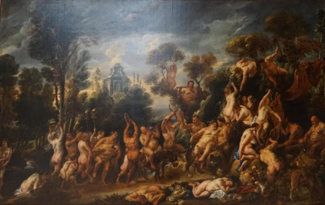 Jacob Jordaens. Triumph of bacchus
