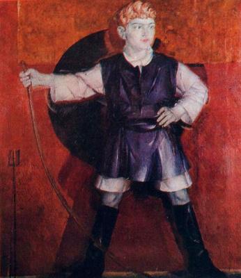 Fedor Grigorievich Krichevsky. Portrait of Roman Krichevsky, the artist's son