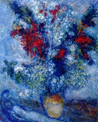 Марк Захарович Шагал. Букет цветов