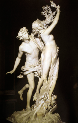Gian Lorenzo Bernini. Apollo and Daphne