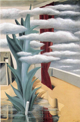 René Magritte. After the water the clouds
