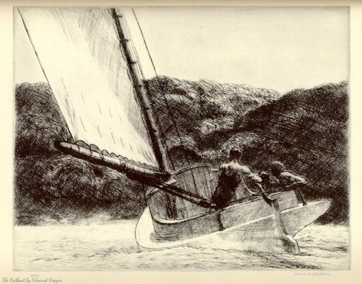 Edward Hopper. Sailboat