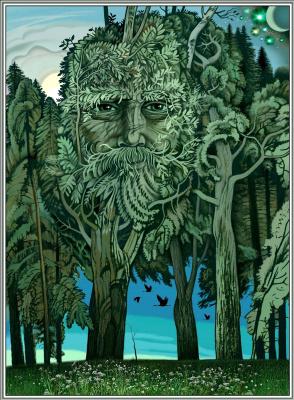Konstantin Avdeev. Living forest