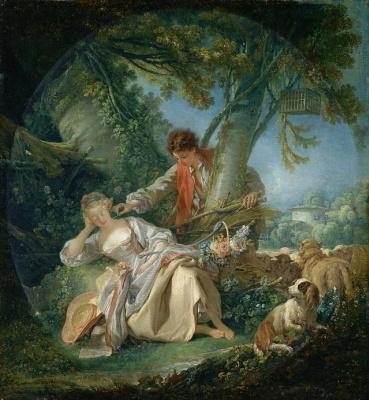 Francois Boucher. Interrupted sleep
