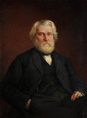 Николай Николаевич Ге. Портрет И. С. Тургенева