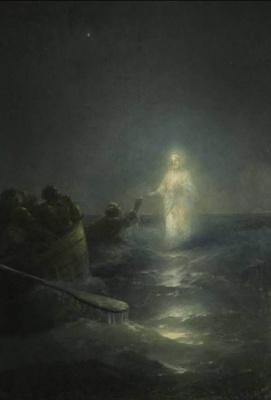 Иван Константинович Айвазовский. Хождение по водам