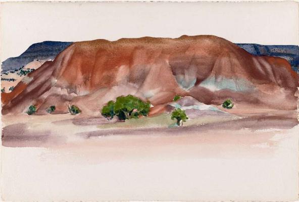 Georgia O'Keeffe. Dune (Ghost ranch)