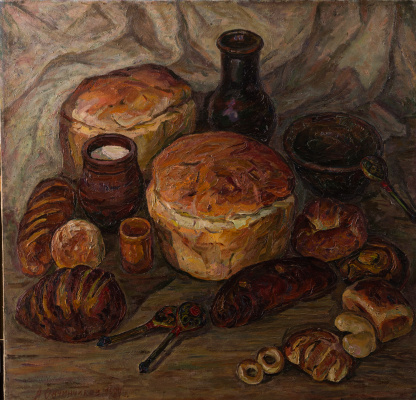 Александр Иванович Овчинников. Русский хлеб.
