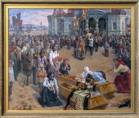 Иван Моисеевич Мамонтов. Funeral in Vladivostok