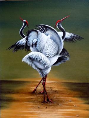 Alex Visiroff. Dance of love