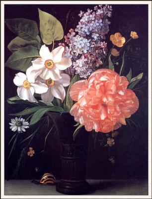 Франсуа Лепаж. Цветы