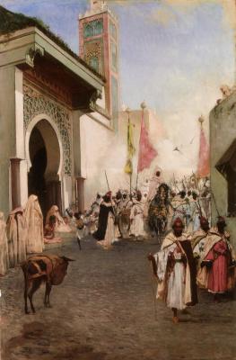 Жан-Жозеф Бенжамен-Констан. Вход Мухаммеда II