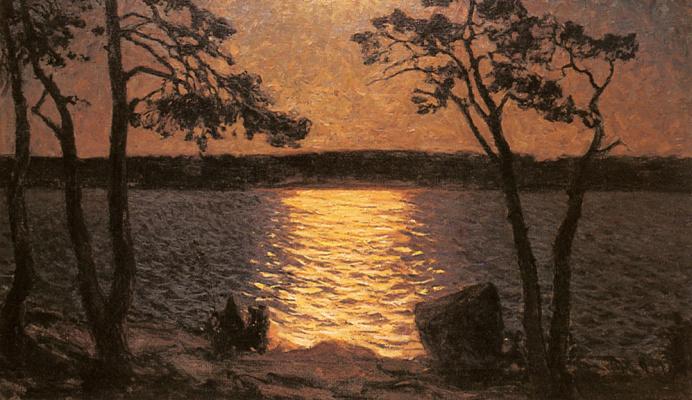 Готфрид Каллстениус. Лунное озеро