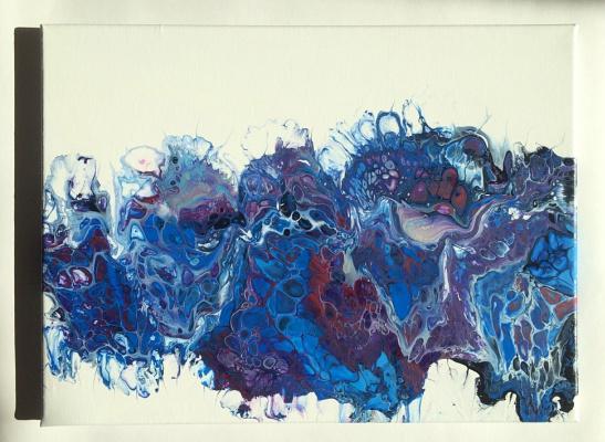 Denis. Blue madness