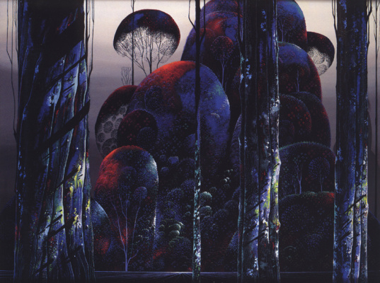 Eivind Earl. Trees in autumn