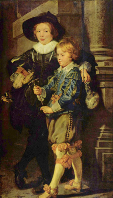 Peter Paul Rubens. Portrait of the sons, albert and Nicholas