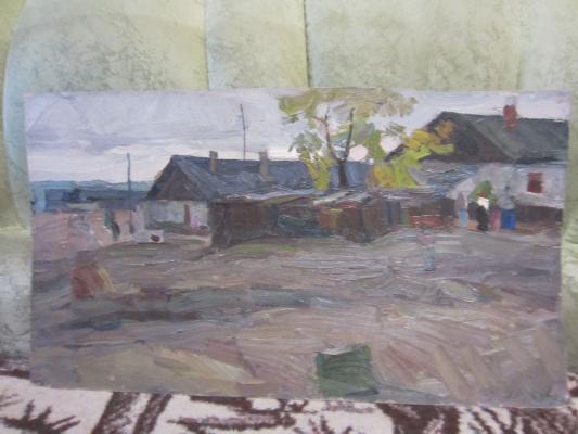 Игорь Алексеевич Маляренко. Остров бирючий окраина 1964