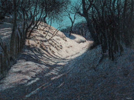 Иван Степанович Марчук. Зима