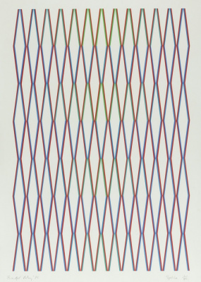 Bridget Riley. Fusion (Schubert 21)