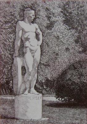 """Igor Igorevich Khandozhko. Diptych """"In the park"""". Perseus"""