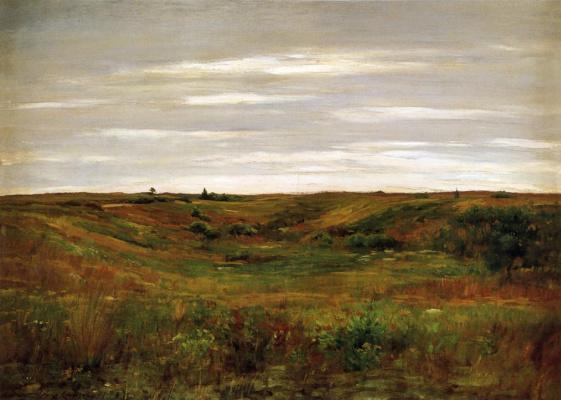 Уильям Меррит Чейз. Пейзаж долины Шиннекок
