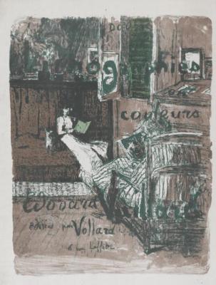 "Jean Edouard Vuillard. ""Landscapes and interiors"". Album cover"