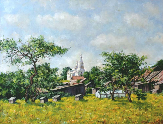 Roman Fedorovich Fedosenko. Summer in the village