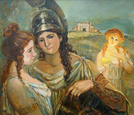 Ирина Александровна Аросланова. «Зависть богов» х., м., 90х80, 2006г.