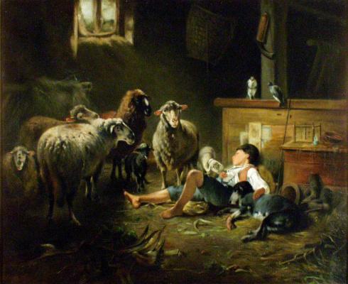 Фридрих Отто Геблер. Овцы