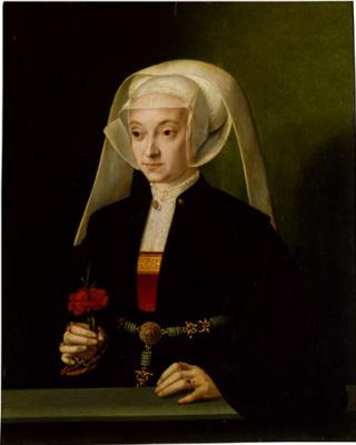 Бартель Брун. Портрет молодой женщины