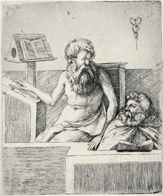 Jacopo de Barbary. Two elders reading