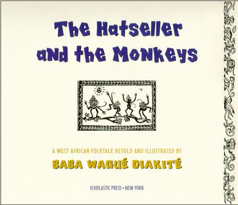 Ладжи Диаките. Продавец шляп и обезьяны 01. Титульный лист