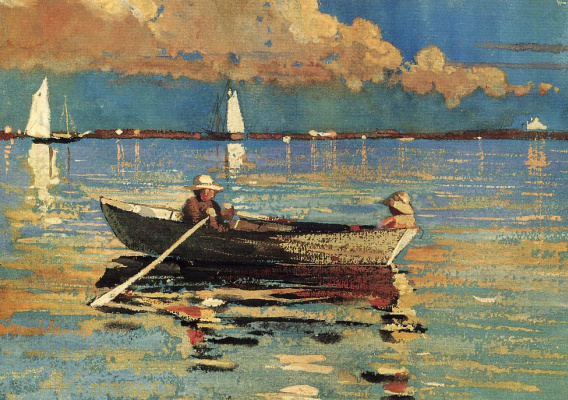 Winslow Homer. Gloucester Harbor
