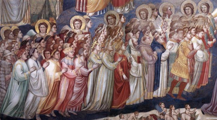 Giotto di Bondone. Judgment. Fragment 11